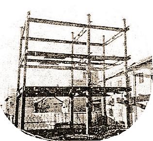 ホテル建設時の写真